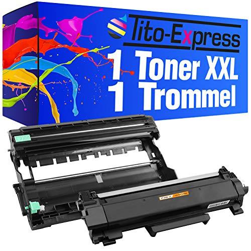 Tito-Express Platinum Serie 1 Toner & 1 Trommel XXL compatibel met Brother TN-2420 & DR-2400 MFC-L2730DW MFC-L2750DW DCP-L2530DW MFC-L2735DW DCP-L2537DW DCP-L2550DN MFC-L2710DN MFC-L2710DW