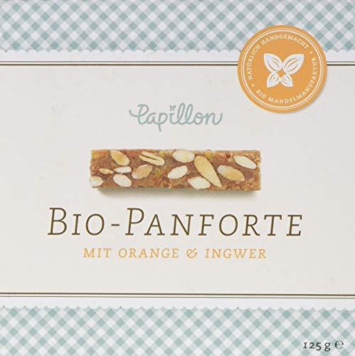 Papillon Bio-Panforte Orange & Ingwer, 1er Pack (1 x 125 g)