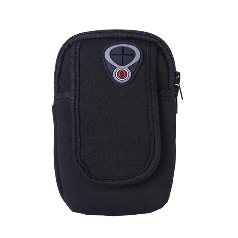 虫支配するお願いしますスマートフォンホルダー 携帯ケース YOKINO 通気性抜群 小物収納 防水防汗 軽量 縫い目なし 調節可能 男女共用