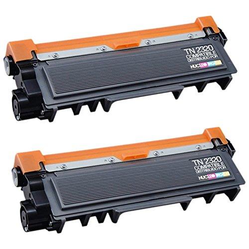 NucleoDigital 2x Tóner Compatible con Brother Tn2320 Alta Capacidad DCP-L2520DW, HL-L2300D, HL-L2340DW, HL-L2360DN, HL-L2365DW, MFC-L2700DW, MFC-L2720DW, MFC-L2740DW envios desde España