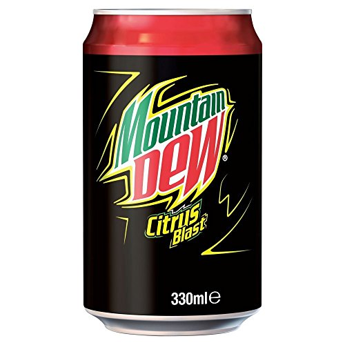 (24 Pack) Mountain Dew Can 49p - 330ml