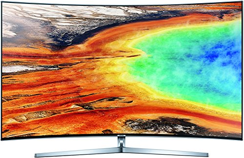 Samsung MU9009 123 cm (49 Zoll) Curved Fernseher (Ultra HD, Twin Tuner, HDR 1000, Smart TV)