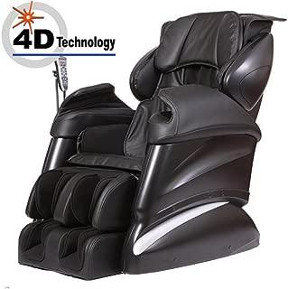 New Tsukino JP316 - 4D Full Body Massage Chair Recliner (Black)