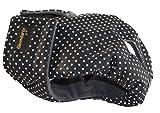 Glenndarcy Weibliche Hundewindel - Wasserdichtes Stoff - Dotty Black XXXL Pants & 2 Washable Pads