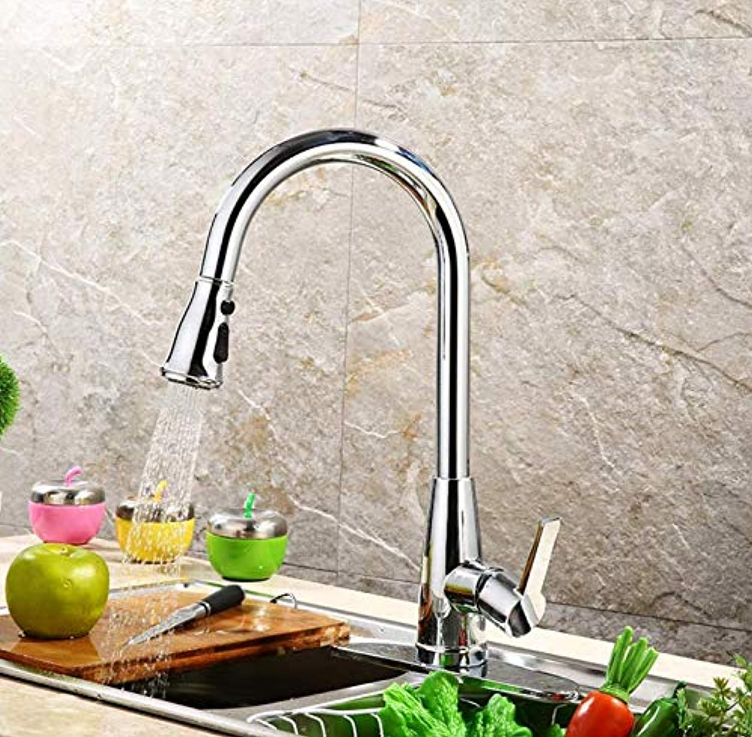 Water Taptaps Faucet Sink Faucet Into The Wall Bathroom Kitchen Mixer Faucet Kitchen Hot and Cold Faucet