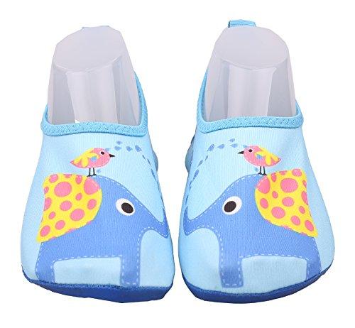 ABClothing Chaussures d'eau d'éléphant d'enfant en Bas âge Toddler US 13M Petits Enfants 32-33 EU / 13-13.5 RU