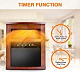 Electric Space Heater -1500W Infrared Heater with...