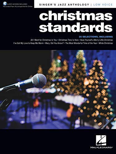 Christmas Standards: Singer's Jazz Anthology - Low Voice with Recorded Piano Accompaniments Onlineの詳細を見る
