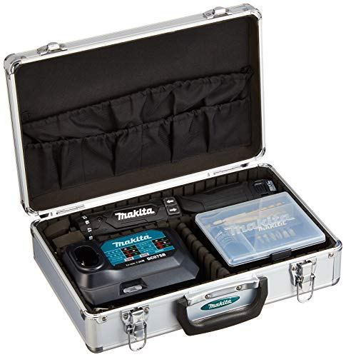 マキタ(Makita) 充電式ペンドライバドリル(黒) 7.2V 1.5Ah バッテリ2本・充電器・アルミケース付 DF012DSHXB