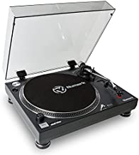 Numark TT250USB | Professional Direct Drive Turntable with Magnetic Cartridge, Aluminum Platter & S-shaped Tonearm