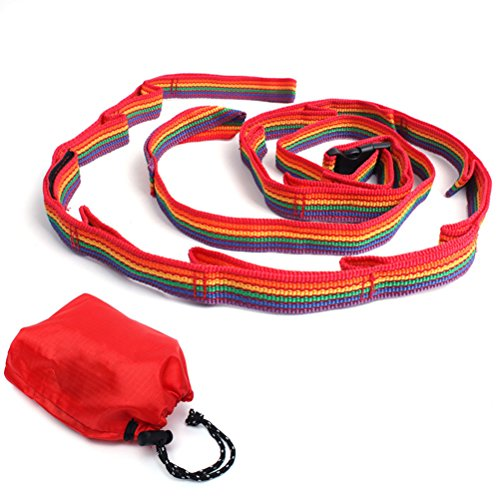 WINOMO Colorful Tent Hanging Lanyard Tent Rope Lamp Lantern Hang Cord Lanyard Clothesline Accessories for Outdoor Camping Picnic Hiking