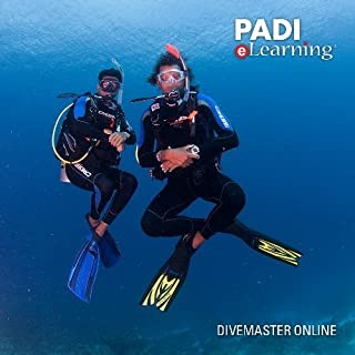 PADI Online Divemaster Diver Course Scuba Diving eLearning Divemaster Certification On Line Classroom Dive Books
