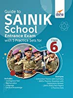 Guide to SAINIK School Entrance Exam with 5 Practice Sets for Class 6