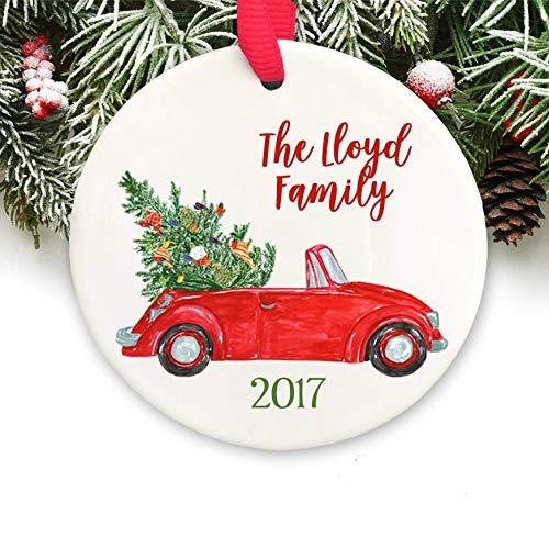 Dozili Personalized Christmas Ornament Personalized Keepsake Ornament Family Christmas Ornament