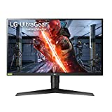 "LG 27GN750-B 68,58 cm (27"") Ultragear™ IPS Gaming Monitor (240 Hz, 1 ms, HDR, 2X HDMI, Display Port, USB 3.0, Adaptive Sync und Nvidia G-Sync kompatibel), schwarz"
