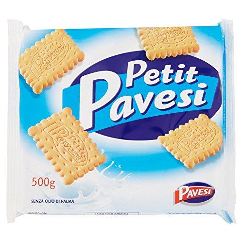 Pavesi Biscotti Secchi Petit perfetti per la Colazione, 500g