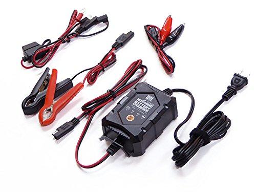 バイクバッテリー充電器(6V/12V切替式) 星乃充電器 【サルフェーション除去機能付】 BCHOSINO