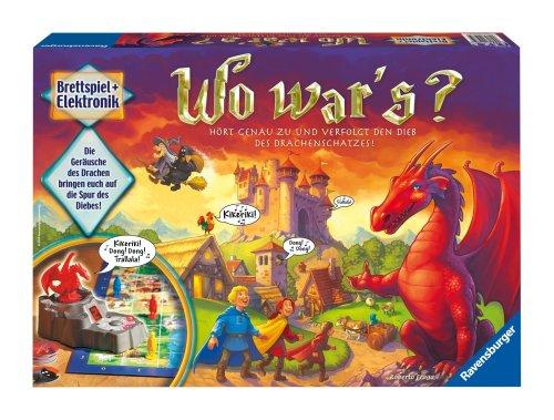 Ravensburger 21975 - Wo war\'s?