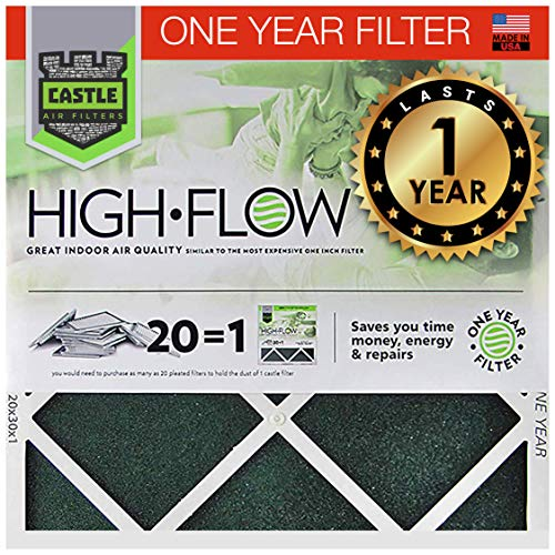 No Toil Castle, One-Year HVAC Furnace Filter,...