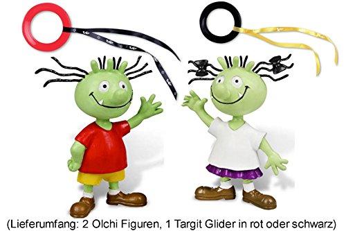 Die Olchis Figurenset Olchi-Junge und Olchi-Mädchen, 3-teilig