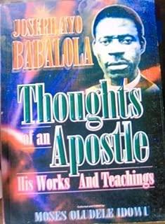 Joseph Ayo Babalola-thoughts of an Apostle