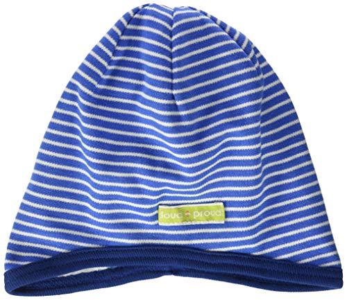 loud + proud Jungen Reversible Cap Organic Cotton Mütze, Blau (Cobalt Cob), (Herstellergröße: 62/68)