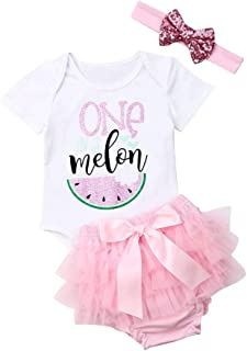 3PCS Infant Girls Outfit Clothes Romper Bodysuit Tulle Shorts with Headband Set
