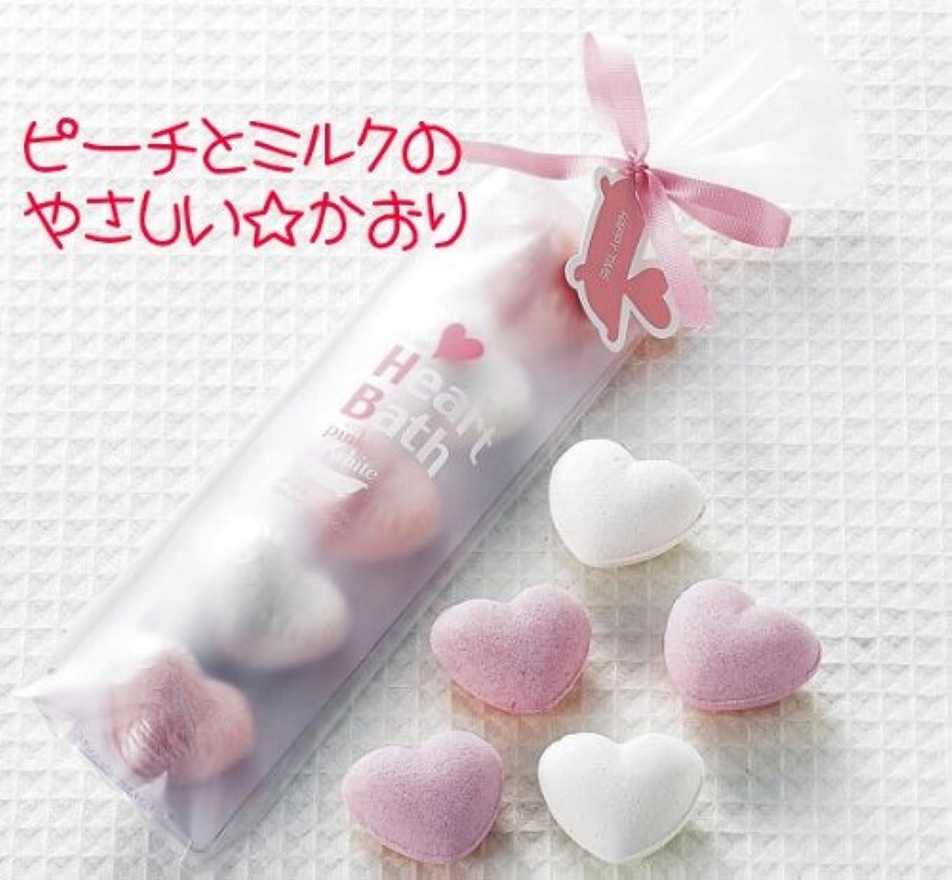 記念品格差テレビ局ハートの入浴剤 ピーチ&ミルク