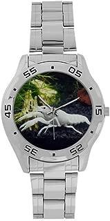 Men's Stainless Steel Analog Watch White Specter Crayfish Pattern