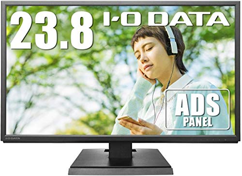 I-O DATA EX-LDH241DB Monitor, 23.8-inch with Speaker, ADS Panel, Non-Glossy, HDMI x 1