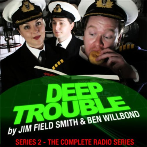 Deep Trouble audiobook cover art