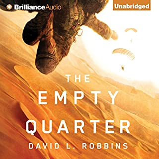 The Empty Quarter audiobook cover art