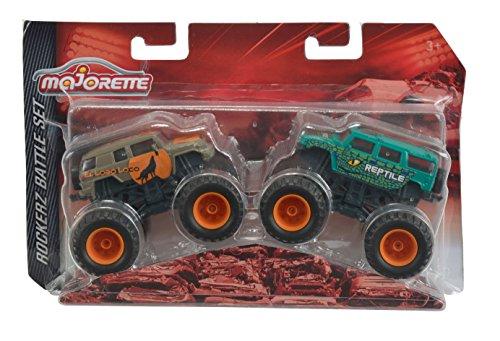 Majorette 212057253 – Monster Truck Set, rockerz Battle, Multicolore