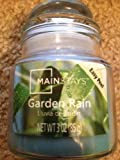 Mainstays - Garden Rain Scent - 3 Oz. Scented Jar Candle