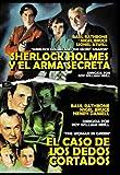 Pack Sherlock Holmes Y El Arma Secreta - El Caso De Los Dedos Cortados [DVD]