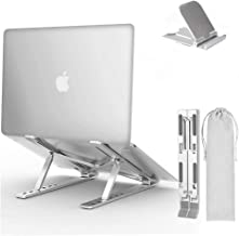 F'wode - Soporte para portátil ajustable, soporte para portátil, soporte ergonómico para computadora portátil, soporte par...