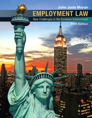 Employment Law (5th Edition)