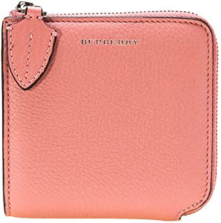 Ladies Supple/Goat Leather Dusty Pink Small Zips Wallet