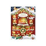 Calendario de Adviento Navidad 2021 Chocolates y Bombones Lindt. Sorpresas de Chocolates con Leche variados Lindor. Incluye Ositos Lindt y Tarjeta Regalo Sorpresa. Se puede envolver para regalo