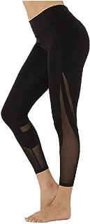 neveraway Women's Gauze Stretchy Fabric Big Pockets Yoga Casual Weekend Leggings