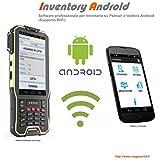 INVENTORY ANDROID WiFi, Software professionale programma di Inventario, magazzino, per Palmari o telefoni ANDROID, memorizza codice quantita lotto