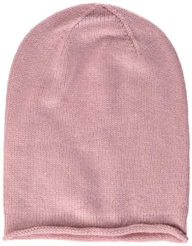 PIECES Damen PCROSE Oversize Cashmere Hood NOOS Strickmütze, Rosa (Rosette), One Size
