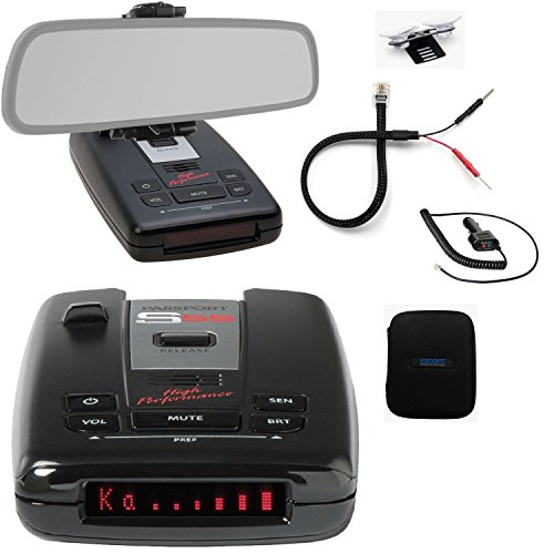 Fantastic Deal! Escort Passport S55 Pro Radar and Laser Detector with DSP (High-Intensity Red Displa...