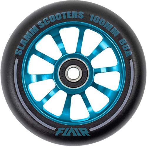 Slamm Scooters Flair 2.0 Wheels Ruedas de patín, Adultos Unisex, Blue (Azul), 100 mm