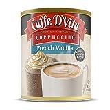 Caffe D'Vita French Vanilla Cappuccino, 6 Pack (16 oz)