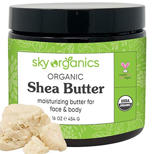 Sky Organics Raw and Unrefined Shea Butter