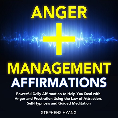Anger Management Affirmations audiobook cover art