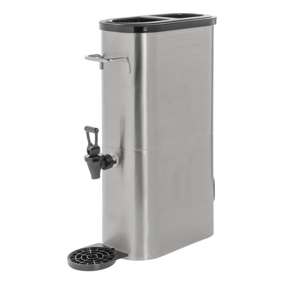 Hubert Iced Tea Direct store Dispenser 3 Stainless Gallon Steel Ranking TOP8 Slim