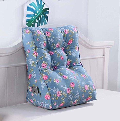 CUSHION MEILING Rückenlehne für Bett, Sofakissen, Rückenkissen für Lounge oder Palettenmöbel in 5 trendigen Farben Lumbar (Farbe : 7, größe : 55 * 60cm)