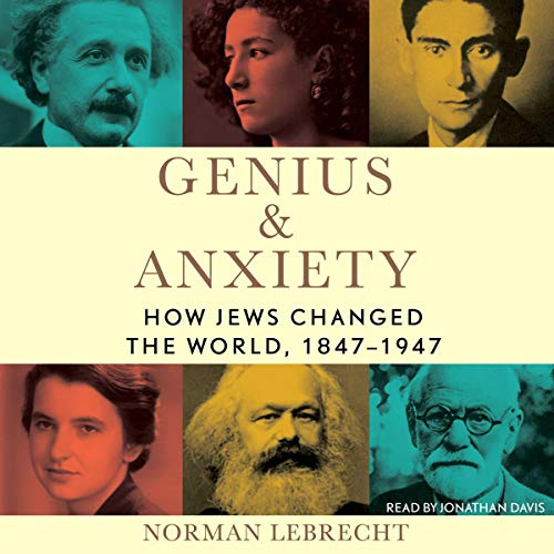 Genius & Anxiety audiobook cover art